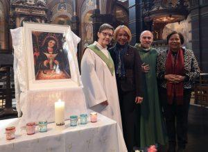 HOLANDA: Ofician misa en honor a la Virgen de la Altagracia