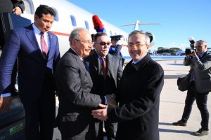 Presidente Danilo Medina llega a Roma para asistir 42° período de sesiones FIDA