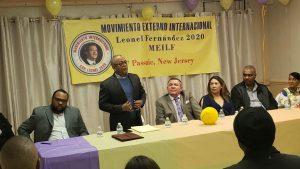 Movimiento Externo Internacional promete llevar a Leonel a la Presidencia