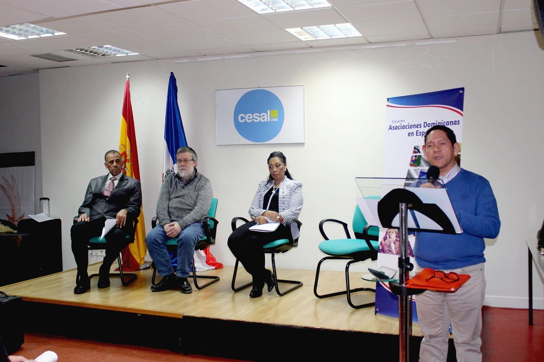 ESPAÑA: Exponen planes para desarrollar la comunidad dominicana en Europa