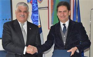 R. Dominicana e Italia firman acuerdos sobre cambio climático y cine