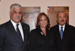 ITALIA: Presidente RD inauguró exposición sobre Duarte y heroínas