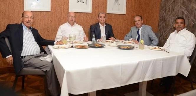 Se reúnen cinco de los precandidatos del Partido de la Liberación Dominicana