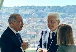 ITALIA: Presidente Sergio Mattarella ofrece almuerzo especial a Danilo Medina