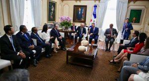 Presidente Danilo Medina se reúne con la nueva directiva del Conep