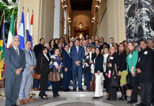 WASHINGTON: Estudiantes diplomado UASD visitan OEA y dos universidades