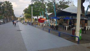 En fase final el proyecto de renovación del Malecón de Santo Domingo