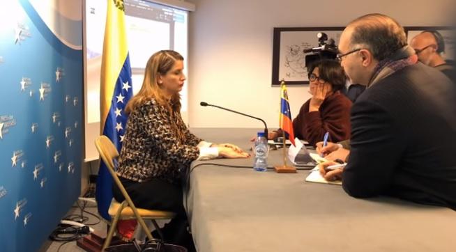 """Embajadora advierte Venezuela corre """"grave peligro"""" por culpa de Guaidó"""