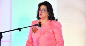 Cristina Lizardo llama mujeres a no limitarse y aspirar a cargos electivos