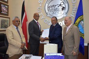 Firman acuerdo alcaldías de ciudades de  Trinidad Tobago y la RD