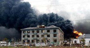 Asciende a 64 número de muertos por explosión en China, 28 desaparecidos