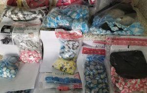 Autoridades decomisan 23 mil gramos de drogas durante operativos en la RD