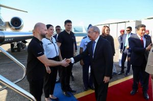 El presidente Danilo Medina arriba a la Florida para reunión con Donald Trump