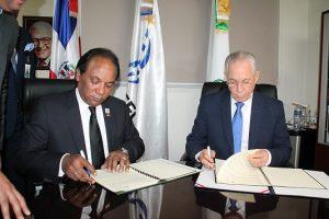 INESPRE y DIGECOOM firman acuerdo a favor sector agrícola nacional
