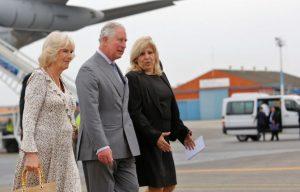 CUBA: Príncipes de la realeza británica llegan para visita de tres días