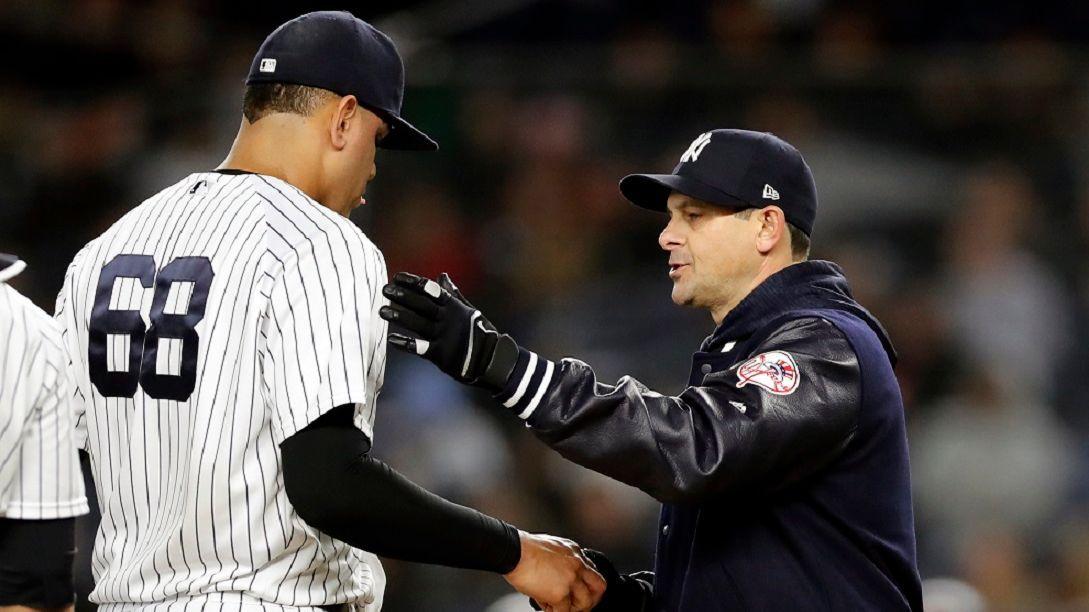Luis Severino descartado para el Día Inaugural por lesión — MLB