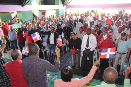 PRSC juramenta 600 coordinadores en Elías Piña y San Juan