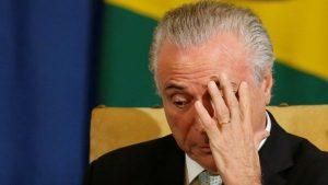 BRASIL: Ex presidente Temer pasa su primera noche en prisión