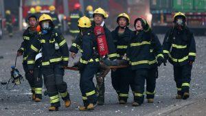 CHINA: Mueren 26 bomberos combatían un incendio forestal