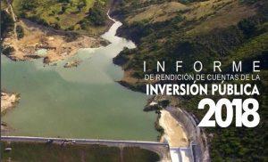 La inversión pública ascendió a 110, 875 millones en 2018 en la Rep. Dominicana
