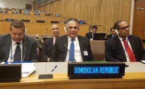 ONU: Camejo destaca esfuerzos gobierno RD para mejorar servicios