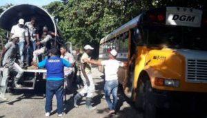 Migración interviene 20 barrios de provincias, detiene 1,063 haitianos