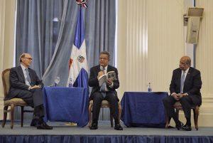 WASHINGTON: Leonel presenta en OEA libro sobre Bosch y Bartlow Martin