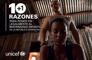 La UNICEF pide eliminar ley permite matrimonio infantil en Rep. Dominicana