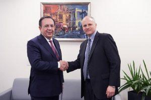 Gobernador del Banco Central participa en reuniones de primavera FMI y BM