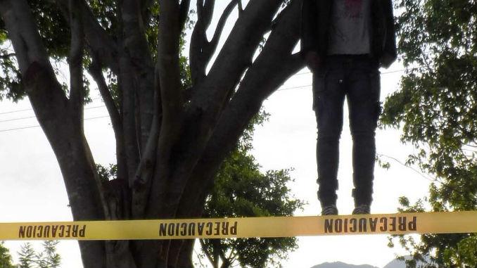 SJM: Hombre mata hijo a palos y cuelga cadáver de árbol porque su pareja lo dejó