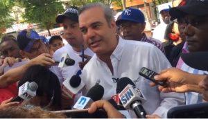Luis Abinader dice Danilo pintó paraíso irreal en acto con ganaderos de Nisibón