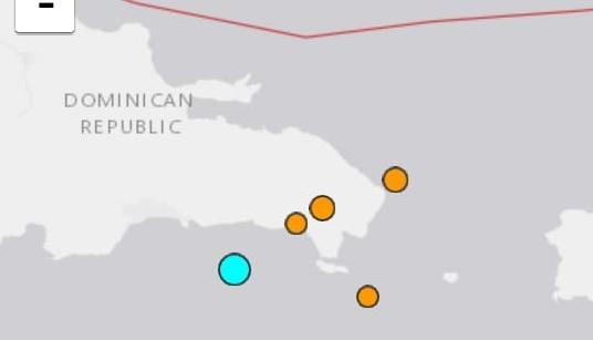 Un temblor de tierra sacude este jueves distintas zonas del Este de la Rep. Dom.