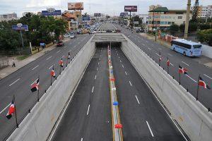 MOPC cerrará elevados y túneles desde esta noche para mantenimiento