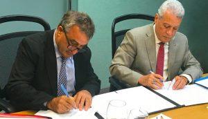 Firman contrato de operación de dos nuevos parques de zonas francas