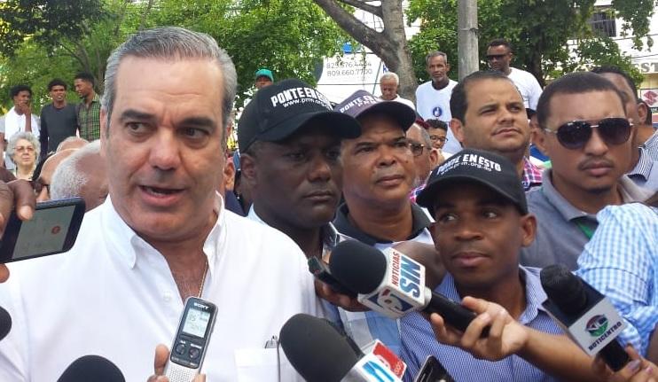 Abinader no considera injerencia política carta Menéndez busca impedir reelección