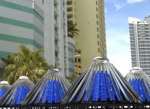 Cono solar genera 20 veces más energía que los paneles tradicionales
