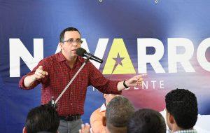 Andrés Navarro asegura es el presidente que la República Dominicana necesita