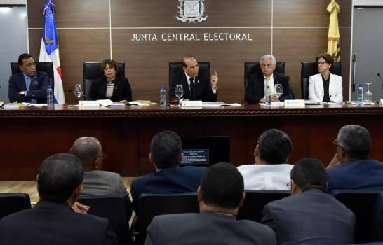 Junta Central Electoral anuncia la suspensión de actividades proselitistas