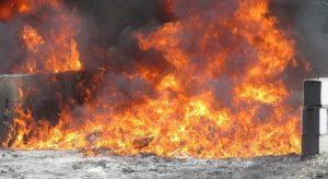 Procuraduría incinera 395 kilos drogas decomisadas entre 29 abril y 5 de mayo
