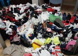 Incautan casi 50,000 pares de calzados falsificados en 1 tienda y 2 almacenes