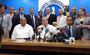 Legisladores  PRM exigen el retiro de uniformados del Congreso Nacional