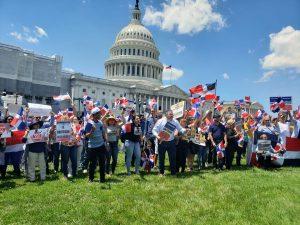 Protestas contra reelección de Danilo Medina se trasladan a Washington DC