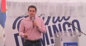 Collado inaugura en Manganagua obras para eliminar inundaciones