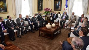 Once empresarios se reunieron con el Presidente Medina en Palacio Nacional