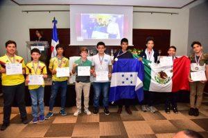 """Concluye  evento""""XXI Olimpiadas matemáticas de Centroamérica y El Caribe"""""""