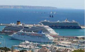 Informe turístico:Palma de Mallorca saturada de visitantes