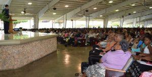 Anuncian asamblea de los Testigos de Jehová 2019 en Santo Domingo Este