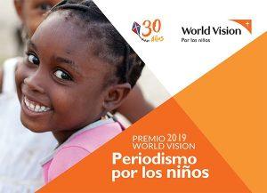 World Vision convoca al premio «Periodismo por los niños»