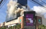 Conato incendio afectó plaza Downtown Center, en la Núñez de Cáceres, de SD