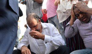 Repudian «atropello» a leonelistas protestaban frente a Congreso RD